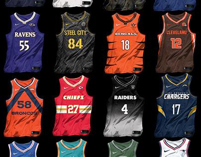 NBAxNFL Jersey Collection