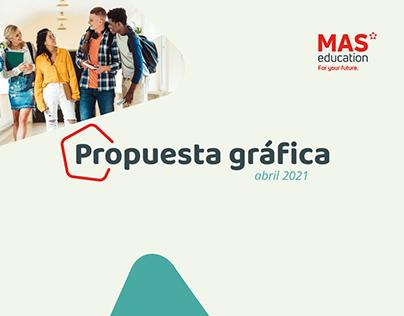 PROPUESTA IDENTIDAD VISUAL - MAS EDUCATION