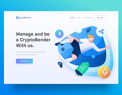 CryptoBender Header