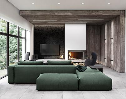 Livingroom interior design