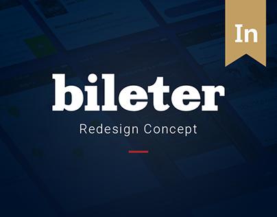 Bileter. Redesign Concept