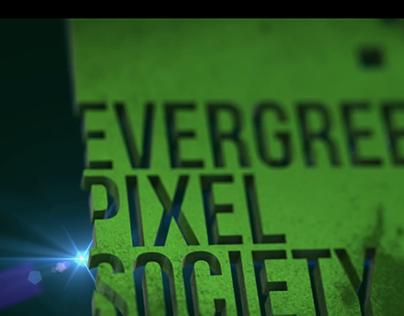 Logo Design & Animation | Evergreen Pixel Society