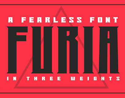 FURIA- A FEARLESS FONT