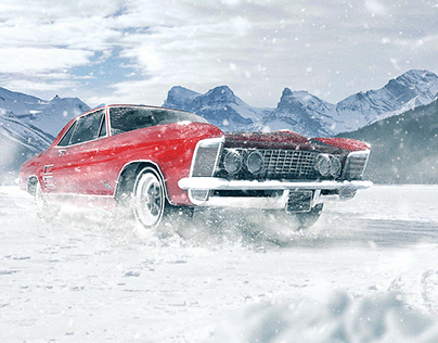 Muscle Car retouch.