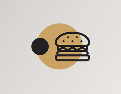 The Dot Burger Branding