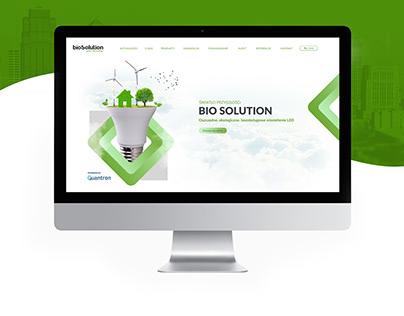 BioSolution | Website Concept