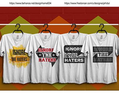 Typography T-shirt Design