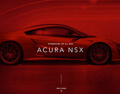 Acura NSX interactive experience