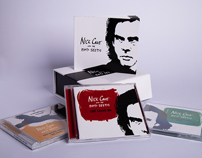Nick Cave School Project - Special edition album covers