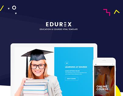 EduRex - Education & Courses HTML Template