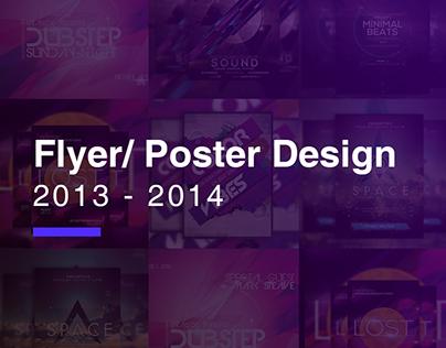 Poster/Flyer Design 2013-14