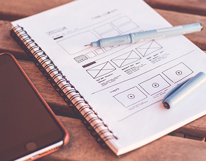 UX/UI sketch-prototype