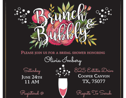 Brunch & Bubbly | Bridal Shower