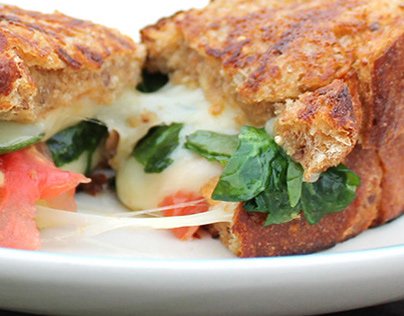 Grilled Cheese Recipe Design