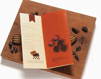 Andre's Confiserie Suisse Menu Design