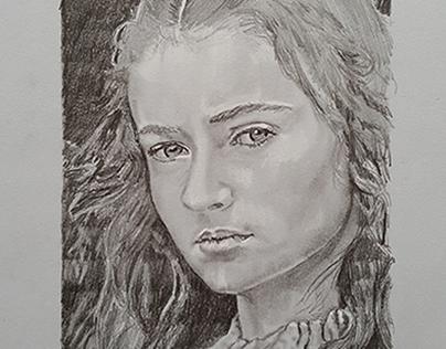 Sansa Stark de la série Game of Thrones