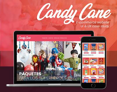 CANDY CANE - UI & UX