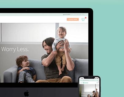 Owlet Website Redesign