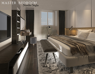Master Bedroom Nordic style