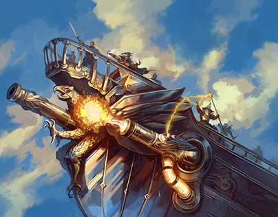 Skyship Spell Cannon