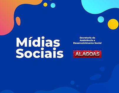 Mídias Sociais - SEADES - Governo de Alagoas