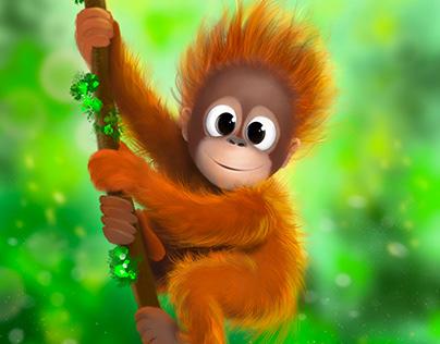 Orangutan Jefri