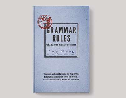 Grammar Rules – Book Cover Design