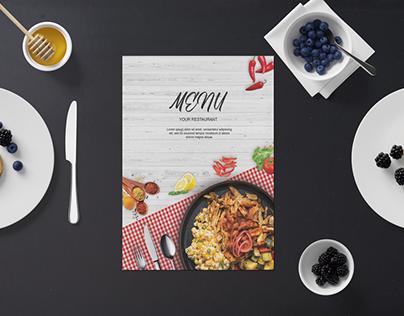 Restaurant Food Menu Design