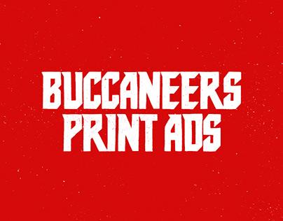 2019 Buccaneers Print Ads