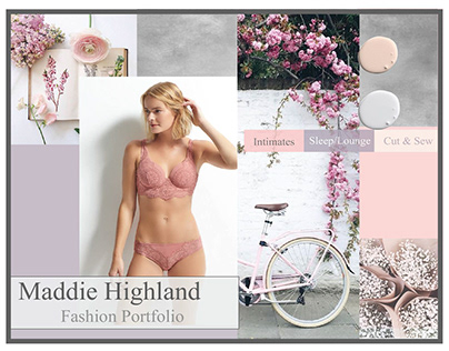 Maddie Highland Fashion Portfolio