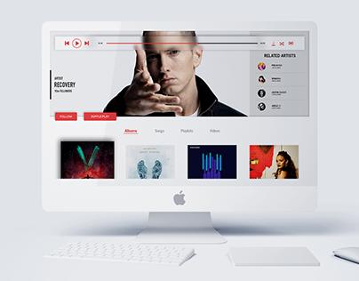 UI - Music Player