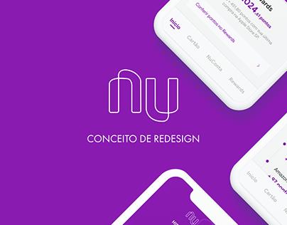 Nubank - Conceito de Redesign