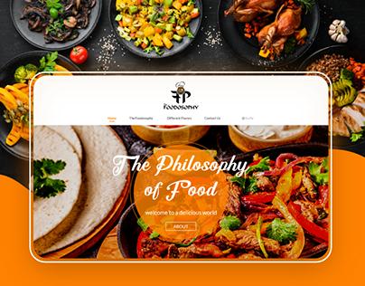 The Foodosophy Website