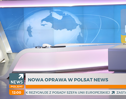 Grafika ekranowa dla Polsat News