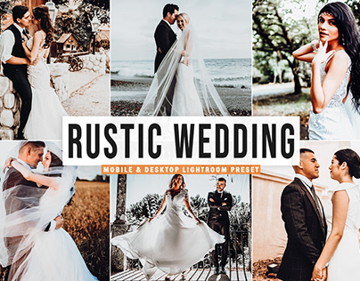 Free Rustic Wedding Mobile & Desktop Lightroom Preset
