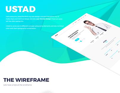 Ustad-personal portfolio template