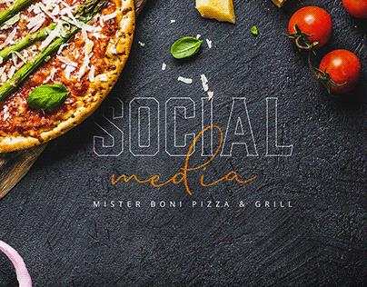 Social Media Mister Boni Pizza & Grill II