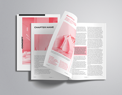 Magazine layout concept