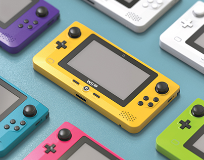 WiiU Gamepad Redesign