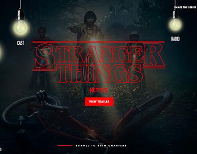 Stranger Things // Stranger Radio