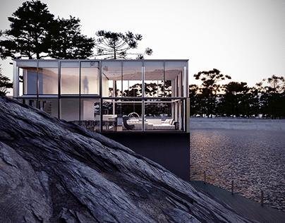 CGI - GLASS HOUSE