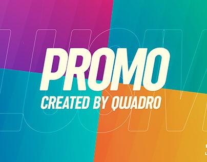 Typographic Promo Intro