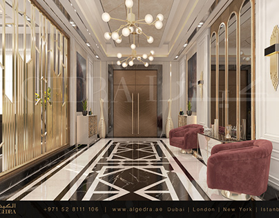 Luxury Villa Entrance by ALGEDRA