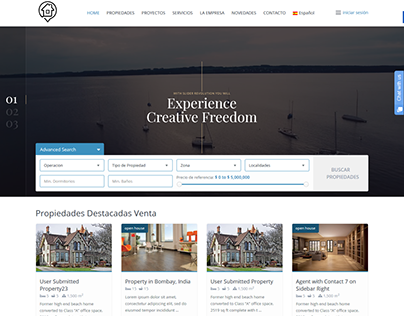 arcaprop.com - WordPress Real Estate Website