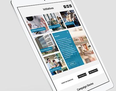 Support uOttawa Website Re-design