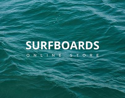 SURFBOARDS   E-SHOP
