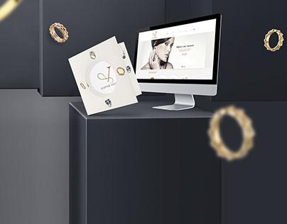 Brand Identity : Jewel Designer Sophie Vuldy