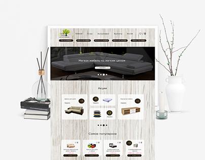 Internet-shop of upholstered furniture