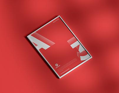 Free Elegant A3 Framed Poster Mockup