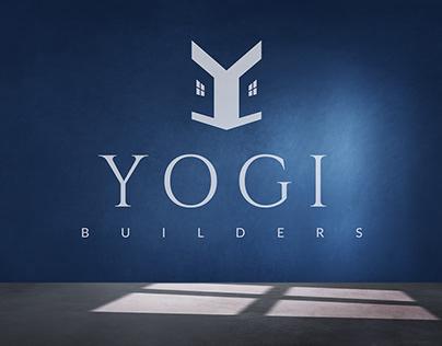 Yogi Builders | Real Estate Logo & Branding Design